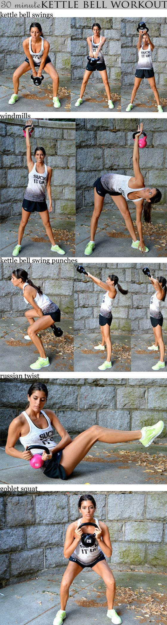 30 minutes Kettle Bell Workout #weightloss #loseweight #bodyweigthworkout #crossfit #fitness #workout https://www.youtube.com/watch?v=Q96gA6-kRZk