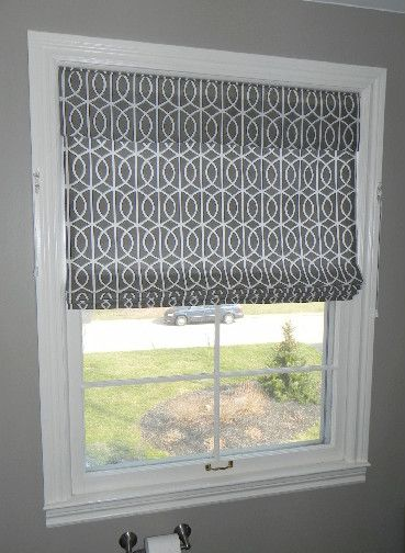 Top Down Bottom Up Roman Shade Window Treatments