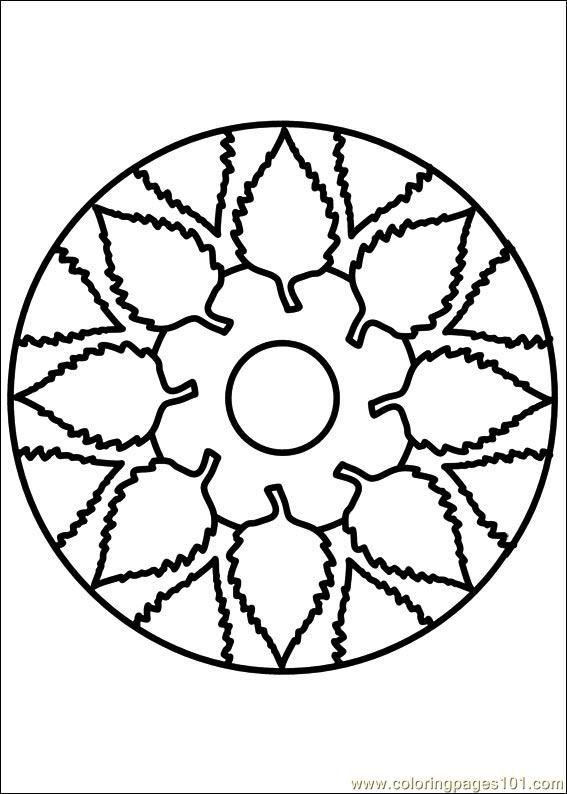 Lovely Painting Coloring Pages 93 Mandala coloring page for