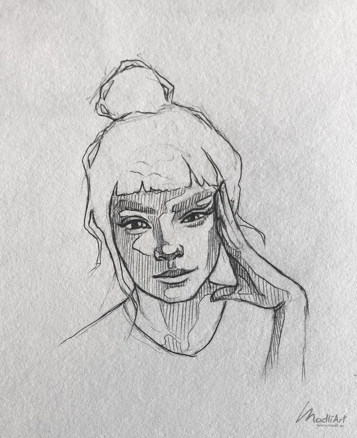 My Sketchbook Art I Drawing Happy Dreamy Girls I Cute Sketch I Drawing poses I S…
