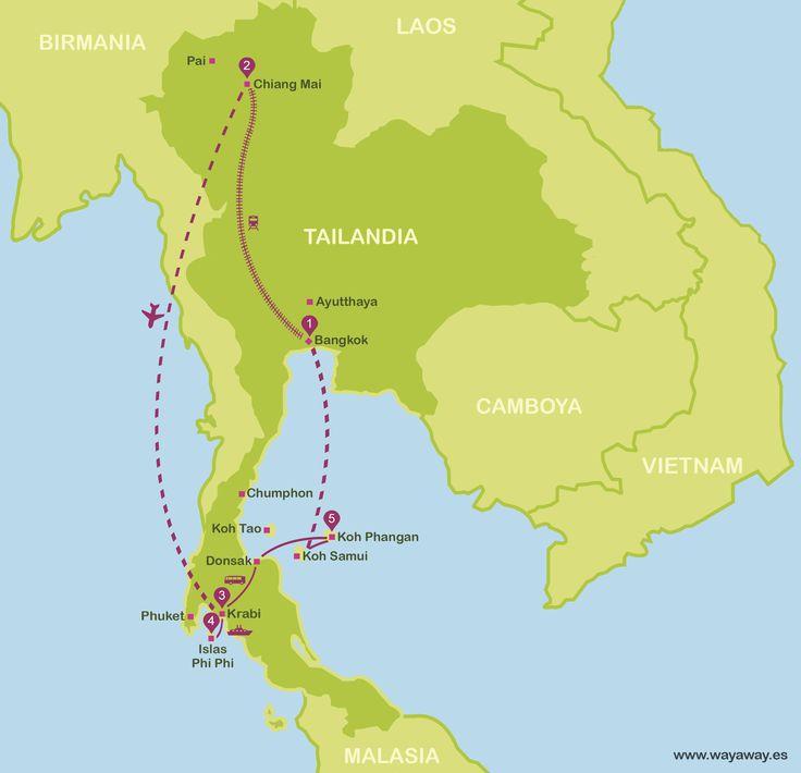 Tailandia por libre en 15 días
