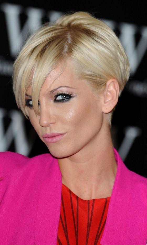 Sarah Harding#039;s Iconic Short Hairstyle