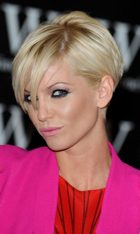 Sarah Harding#039;s Iconic Short Hairstyle