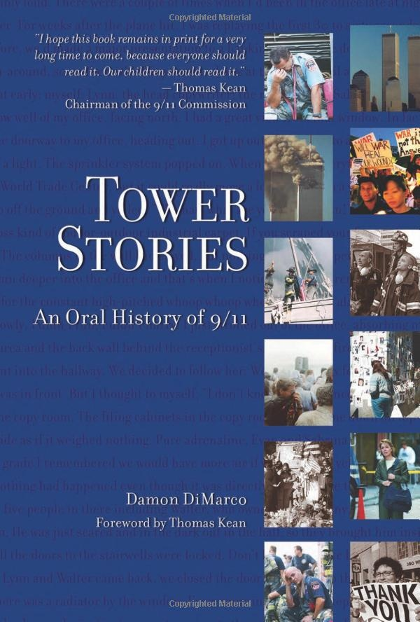 The most heartbreaking book I have ever read... full of survivor stories from folks who worked in the towers, firefighters and police officers on Sept. 11th.  I sobbed as I read this, but admired the strength of the survivors who talked about how they are going on with their lives.