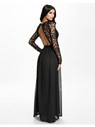 Party Dresses, Long Sleeve Lace Dress, NLY Eve - NELLY.COM : http://nelly.com/ww/womens-fashion/clothing/party-dresses/nly-eve-1103/long-sleeve-lace-dress-300814-14/