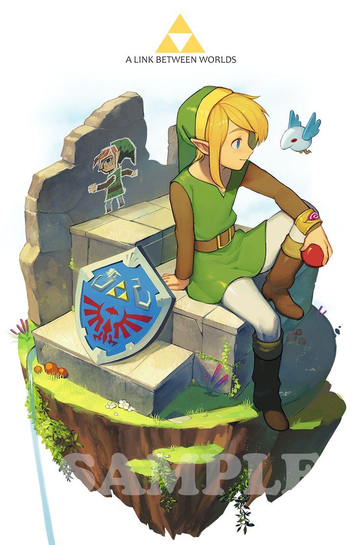 The Legend of Zelda: A Link Between Worlds by mmimmzel #nintendo #fanart