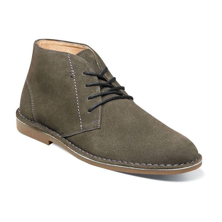 Nunn Bush Galloway Men's Suede Chukka Boots, Size: medium (11.5), Green Oth