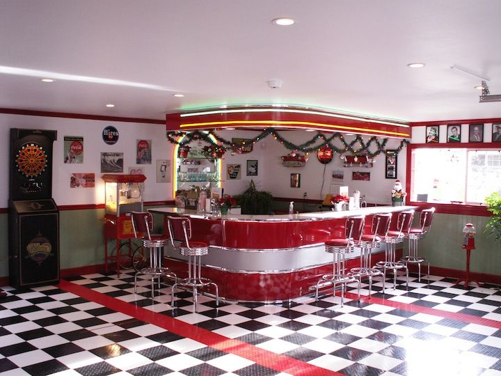 251 Best Restaurant Images On Pinterest Retro Diner