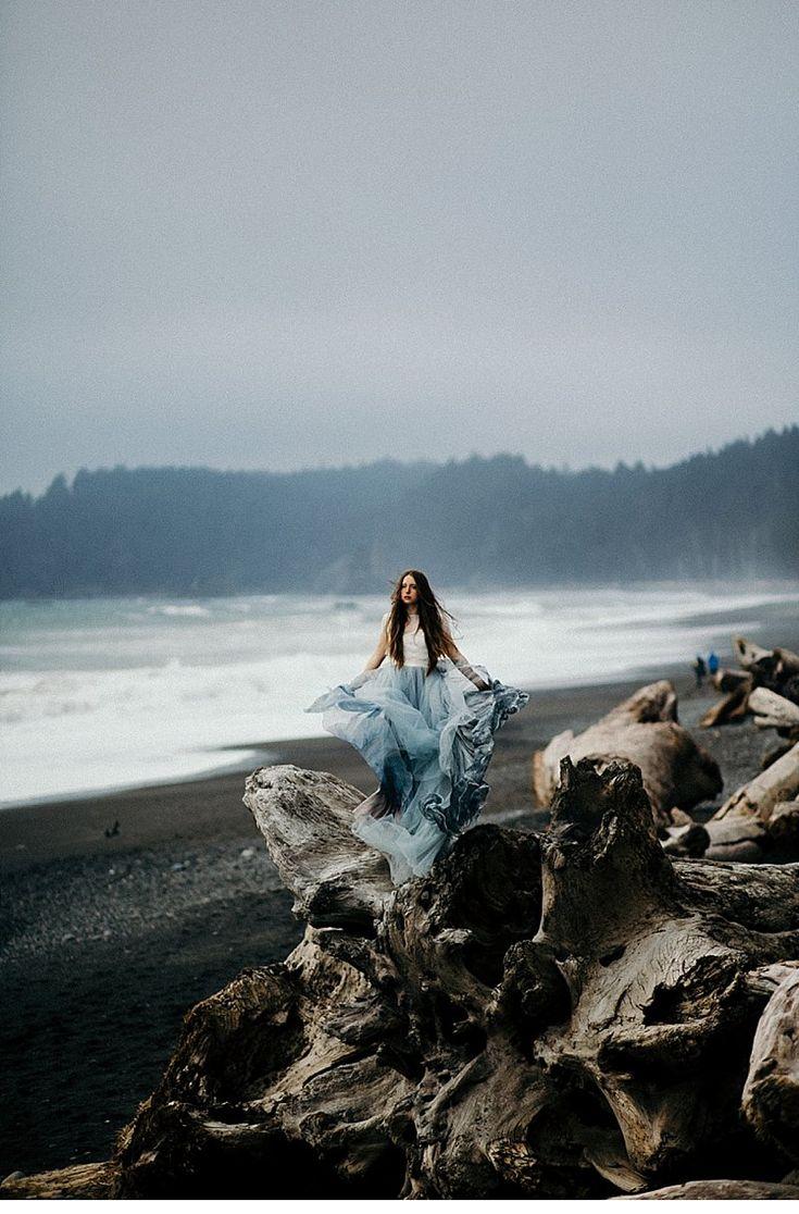 Mystische Strand Braut von Cassie Rosch Photography – Sophia Scheffen