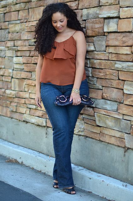 I love alot of The Curvy Girl's outfits. Been esspecially obsessed with this color!