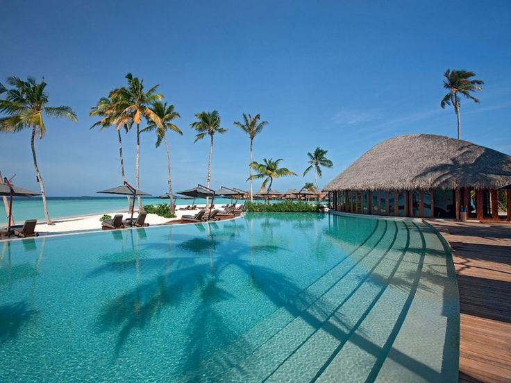 Constance Halaveli Maldives Resort in the Maldives | HomeDSGN, a daily source for inspiration and fresh ideas on interior design and home decoration.