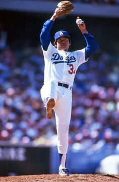 Fernando Valenzuela, Los Angeles Dodgers ~ Repinned 4 U by karen of AZdesertTrips.com
