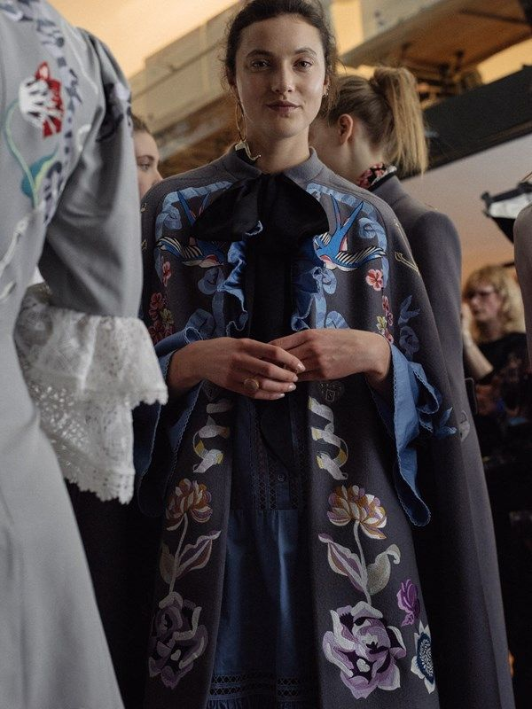 Backstage at Temperley London AW16