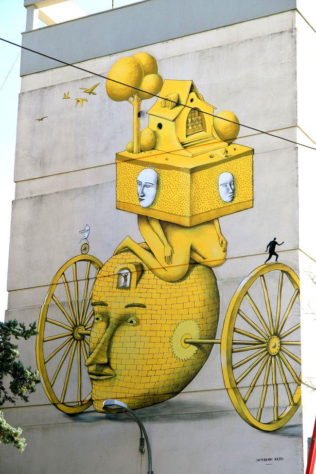 Incrível arte urbana de AEC & WAONE | Criatives | Blog Design, Inspirações, Tutoriais, Web Design