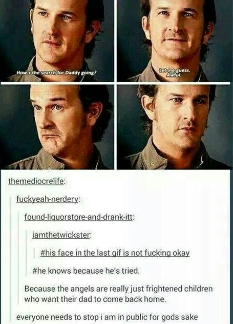 Supernatural // Gabriel // Trickster // Richard Speight Jr