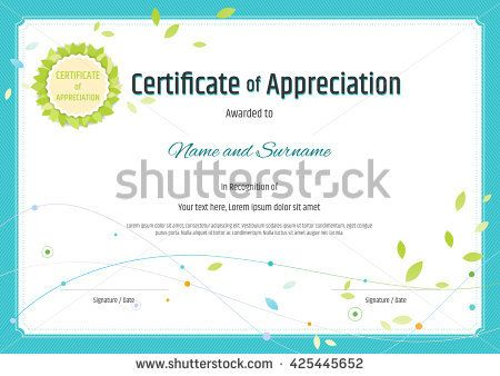 125 best Certificate template images on Pinterest Certificate - certificate of excellence template