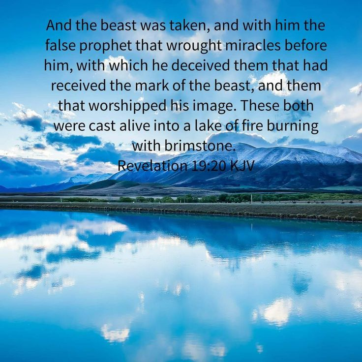What This Means In The Book Of Revelation Lake Fire Is Final Destination Wicked It Different From Bottomless Pit Referred To