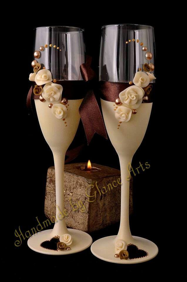 232 best arreglo de copas images on pinterest for Copas de champagne