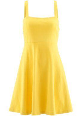 Plaj elbisesi - Sarı Bonprix