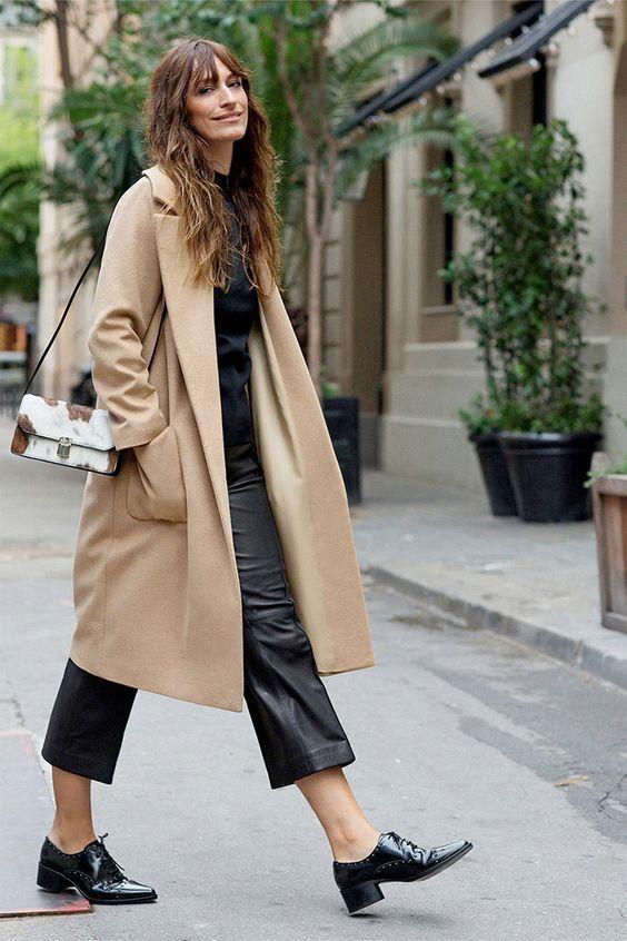 Model Caroline de Maigret, French street style.