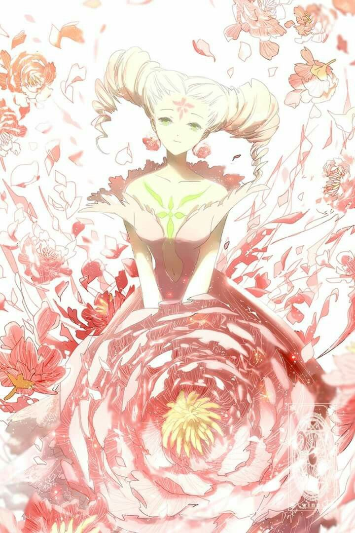 This Is A Nice Pic Of The Flower Clow Card From Captor Sakura Anime And Manga Series By CLAMP