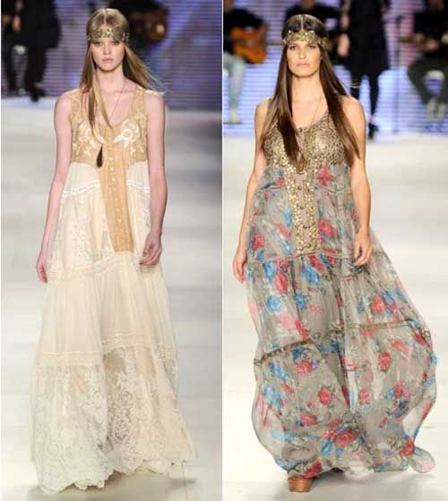 389696601 35 Vestidos Hippies Chic Online: Modelos, Fotos, Looks | Boho | Moda ...