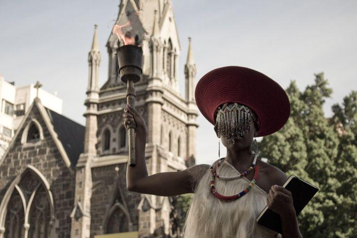 """2016- Sethembile Msezani """"Untitled (Freedom Day) 2014' Photography"""