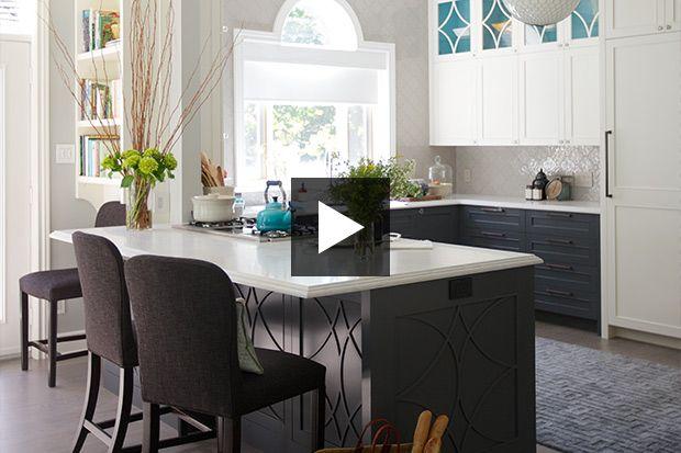Voyez comment le designer d'intérieur a su transformer une cuisine pour en faire un espace de rêve !