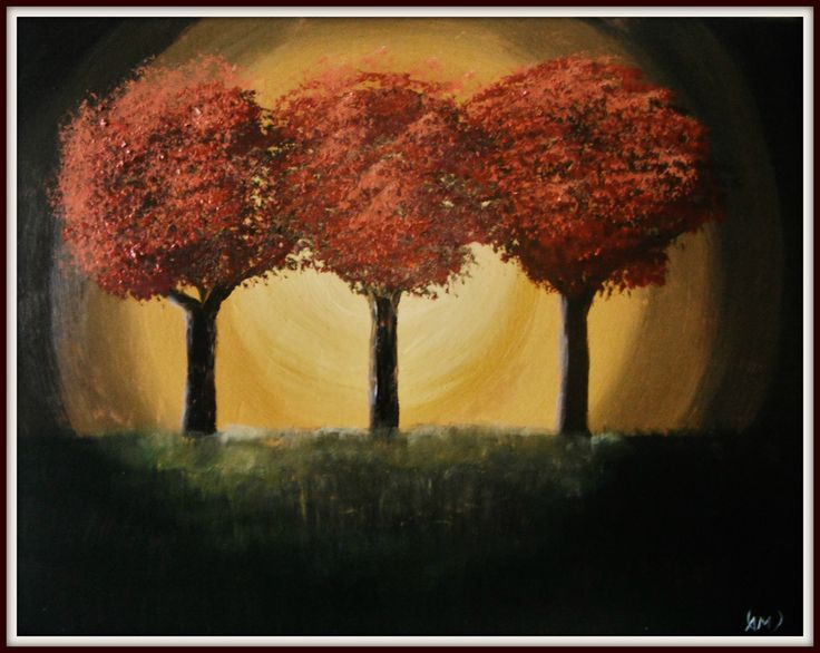 Dream forest. Paintings on camvas by Art Online