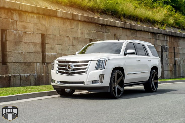 2015 Cadillac Escalade On 26-Inch DUB Baller Wheels - Rides Magazine | Luxury Rides | Pinterest ...