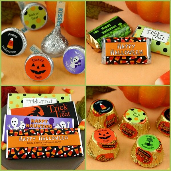 Halloween Personalized Party Favors from HotRef.com