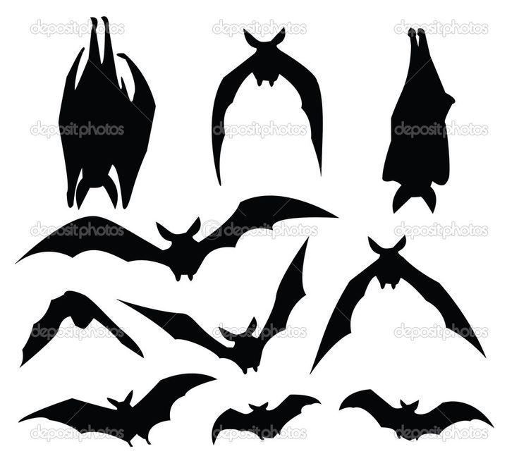 bat silouette   Bat silhouette — Stock Vector © mtkang #3760290