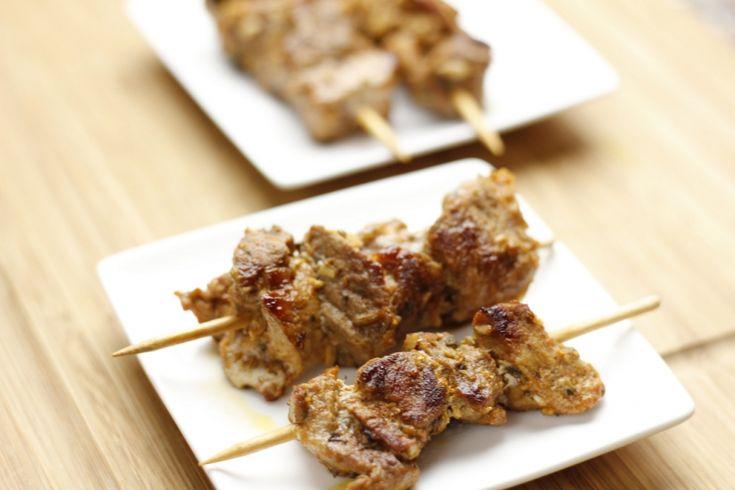 Pincho Moruno, kruidige Spaanse vlees spiesjes