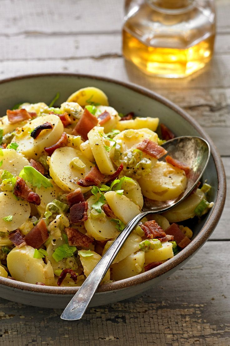 NYT Cooking: The reassurance of potato salad, its portability, conviviality and – depending on the cook – blank slate for creativity have been appealing to Americans since the last half of the 19th century. Immigrants and travelers to America introduced many styles, including variations of salade Nicoise (the French salad of potatoes, olives, green beans and tuna, dressed with vinaigrette), ...