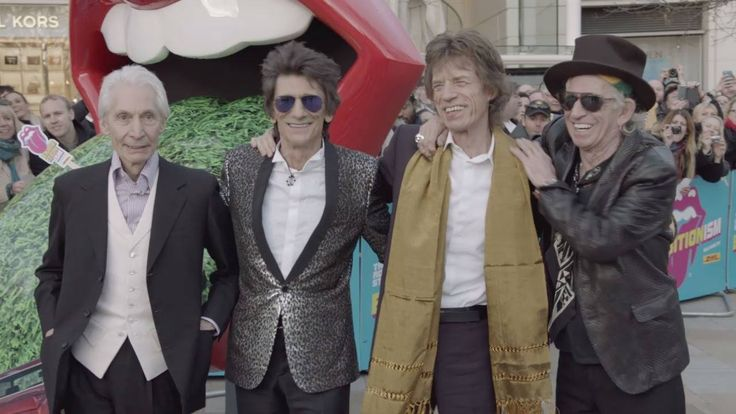 Exhibitionism - The Rolling Stones opened a year ago today in London, and opens in Chicago on April 15! Here are the band at the launch party #StonesIsm