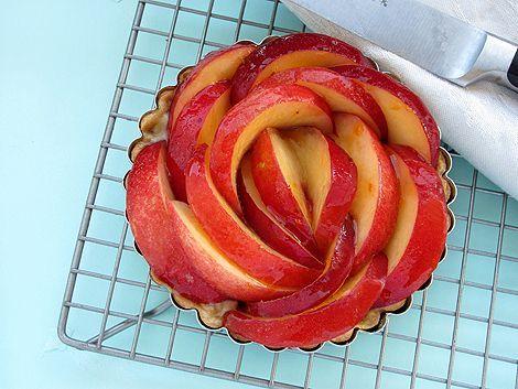 Nectarine Tart #OH.... I love this!#