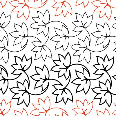 Fall Foliage -Simple leaf design by: Patricia Ritter