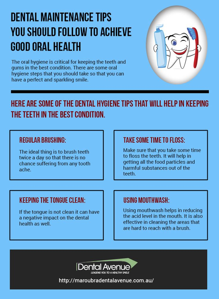 If you want good oral health, you need to follow the dentist instructions. Pay a look at this info-graphic and know #dental #maintenance tips.