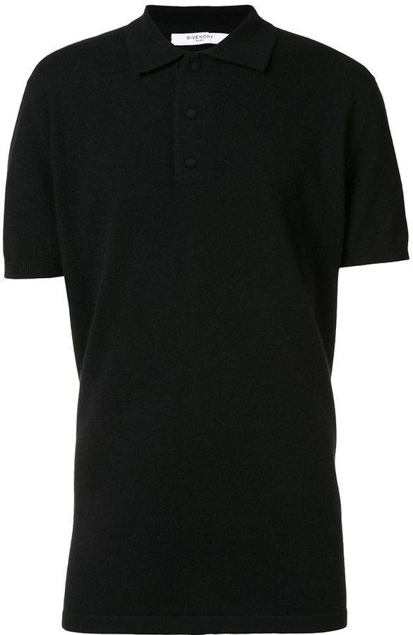 Givenchy long length polo shirt