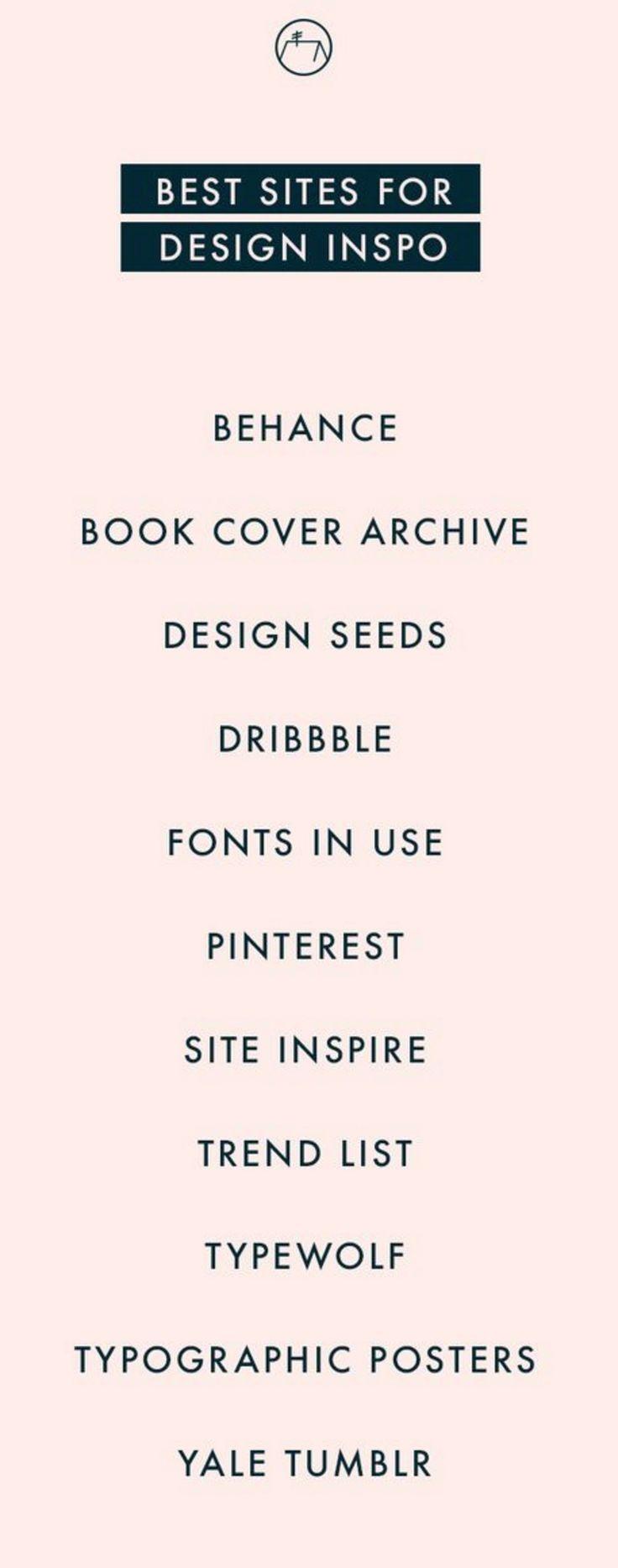 Best sites for design inspo. | jaimekrzos