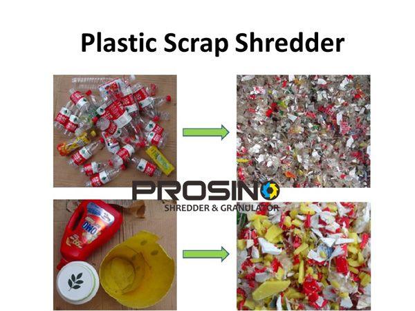 Why we need a plastic scrap shredder machine in plastic scrap recycling? Plastic scrap shredding machine is a great size reduction machine- PROSINO