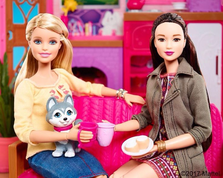 Cheers to the new year, new friends, and new beginnings! #Barbie Shop the link in our bio!