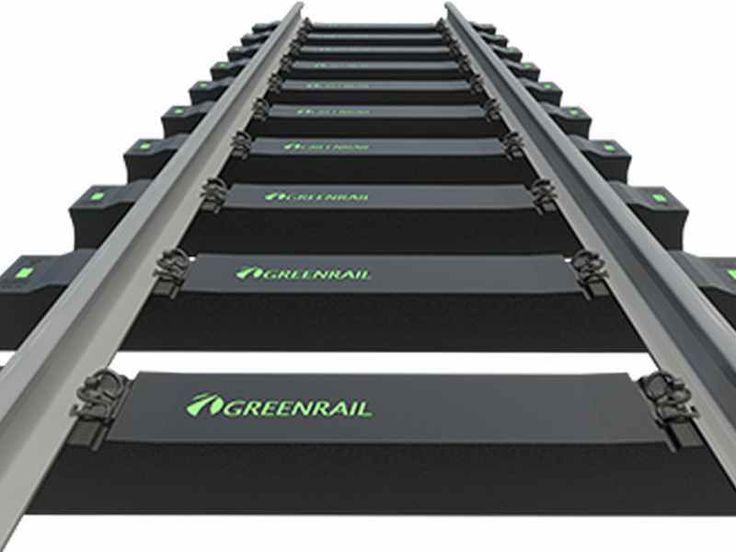 Mobilità sostenibile con le traversine bioefficienti di GreenRail