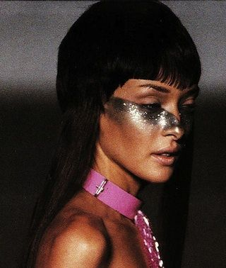 Flashback Friday: Shine On. Saint Louis Augustin from a 1997 issue of British Vogue