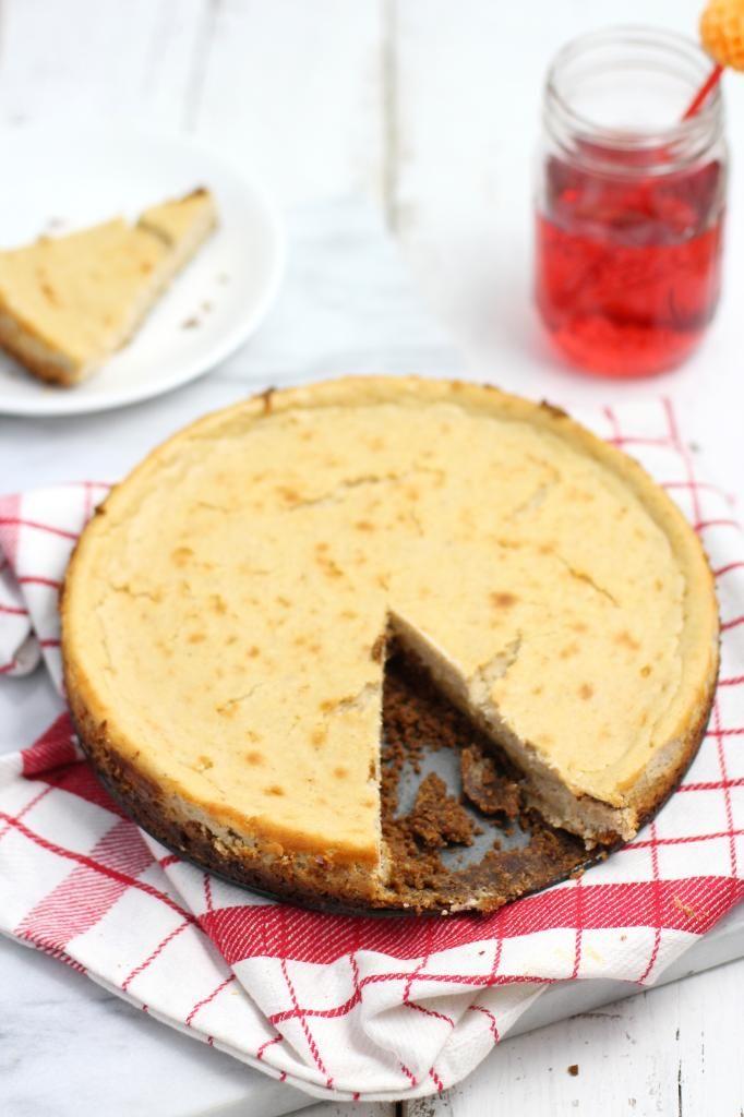 Cheesecake met karamel en bastogne - Lekker en Simpel