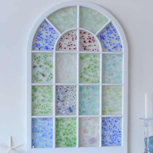 Best Sea Glass Decor Images On Pinterest Beach Home And