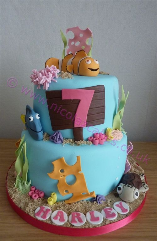 Nemo Cake Decorating Kit : 7 best images about Finding Nemo on Pinterest Sharks ...