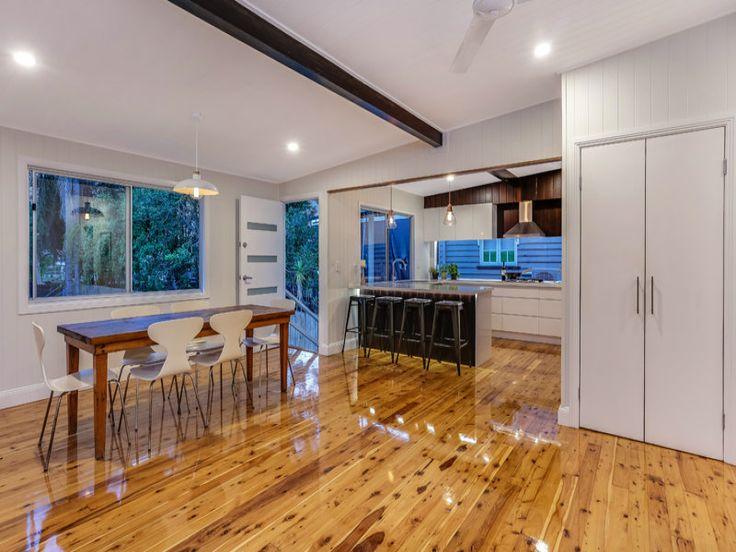 Timber Floors In A Queenslander Home #timberfloors
