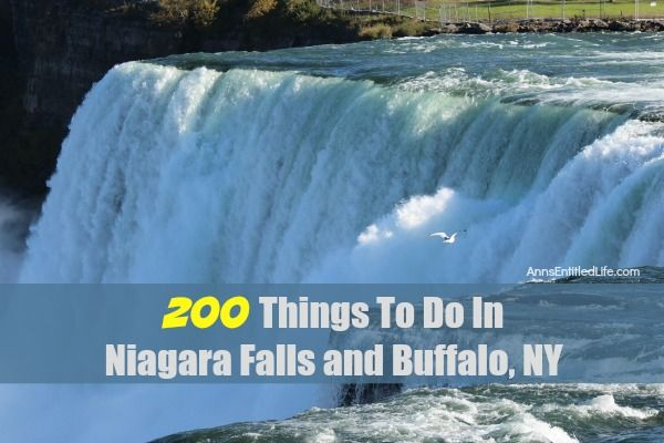 200 Things To Do In Niagara Falls and Buffalo, NY A listing of 200 Things To Do In Niagara Falls and Buffalo, NY that are family friendly activities. From state parks to museums, to architecture and zoos, there is a lot to do in Niagara Falls, New York, Buffalo, New York, and all of Western New...