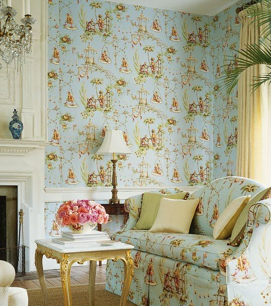 decorating english country style - Wallpaper For Homes Decorating